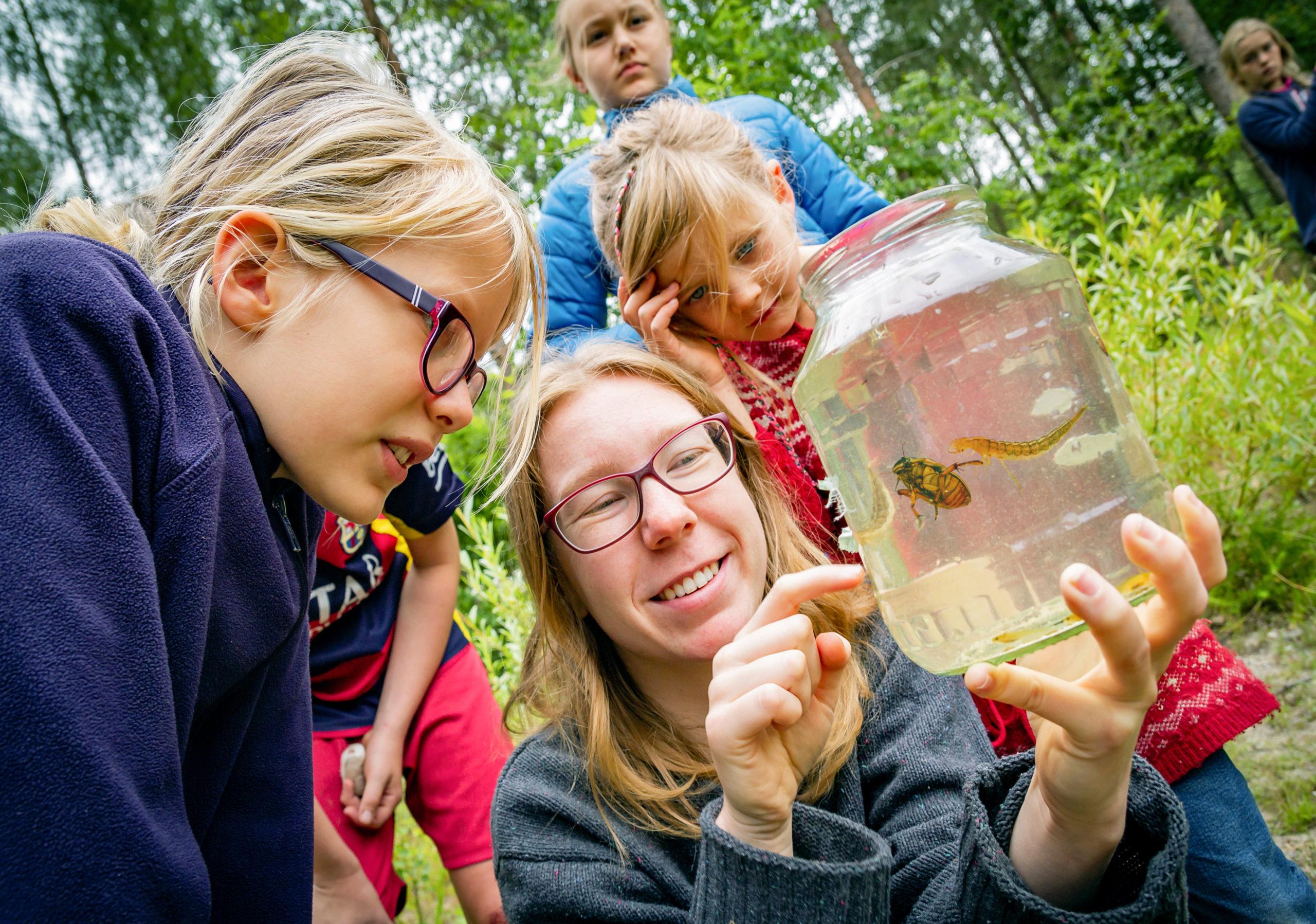 Camperlebnisse mit Kindern in der Dresdner Heide