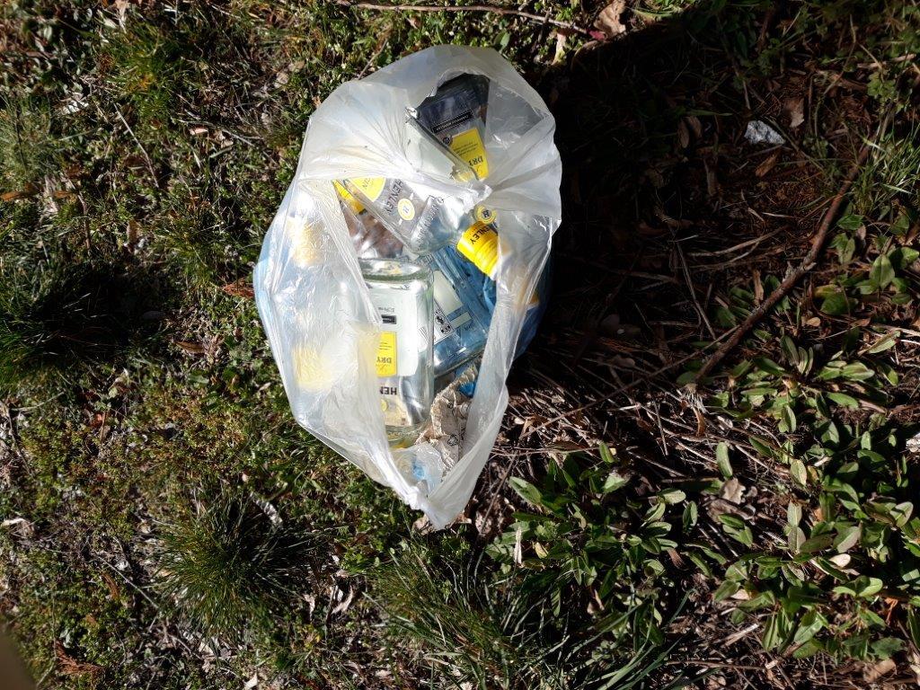 Der Müll muss weg