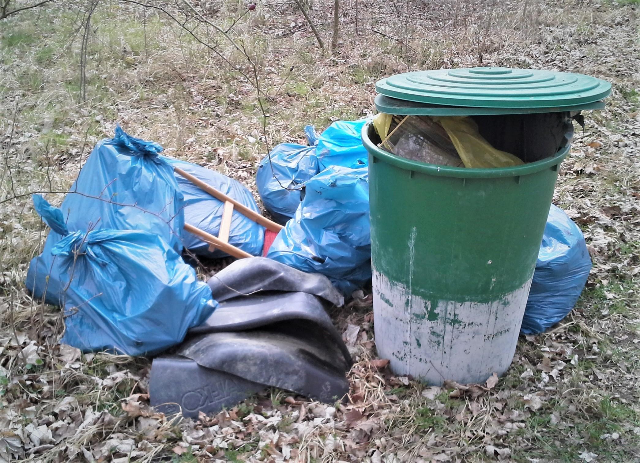 """Müllsammelaktion """"Saubere Biosphäre"""" zum World Cleanup Day 2019"""