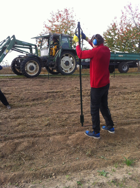 Lebensraum und Futterkammer am Ackerrand schaffen – jetzt wird die Hecke gepflanzt!
