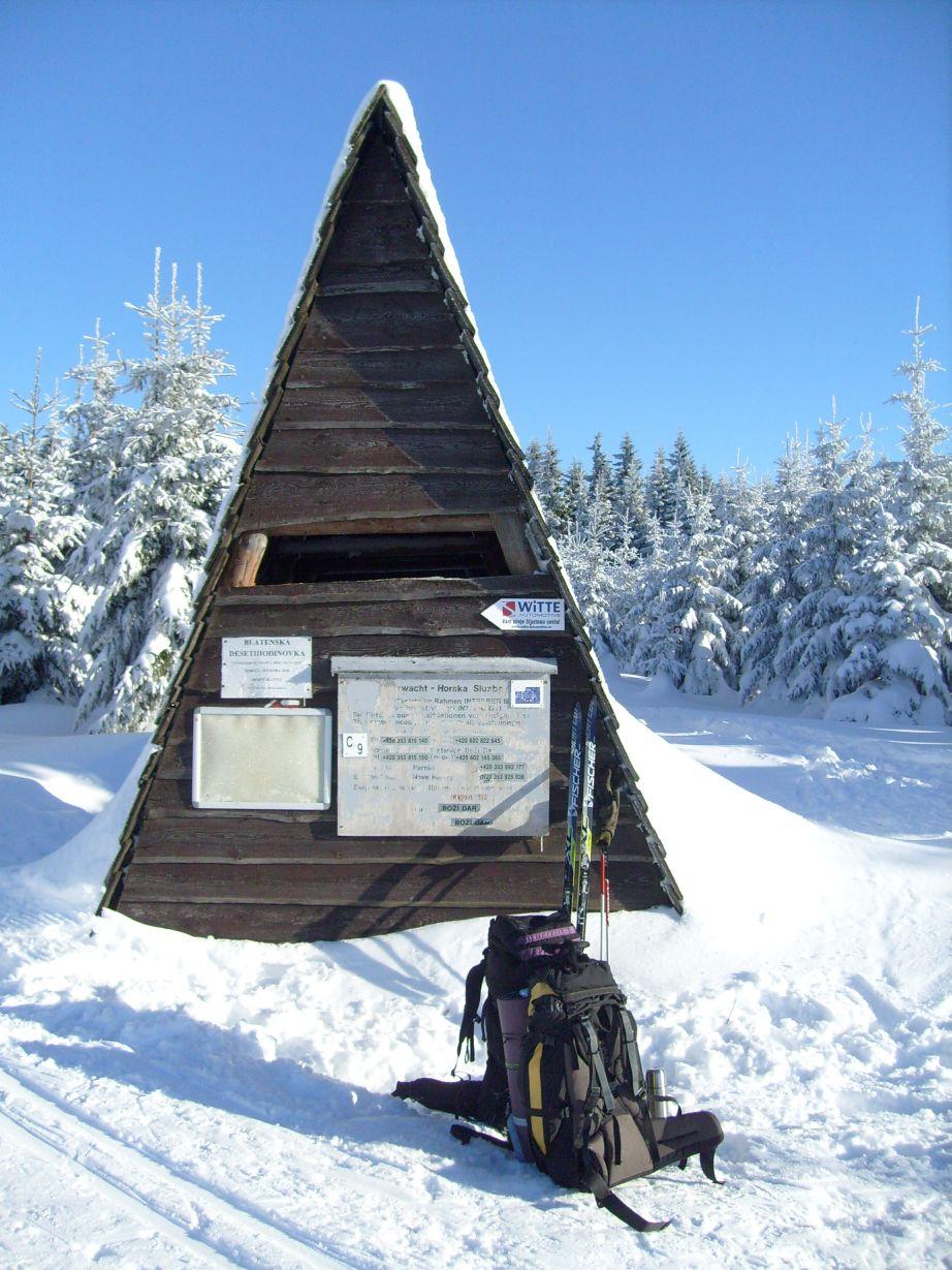 Skicamp im Osterzgebirge mit der Uni im Grünen