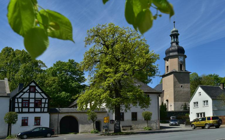 Vogtländisches Mühlenviertel und Gebiet um den Burgstein. Im Bild: Mißlareuth. Foto: Andreas Wetzel
