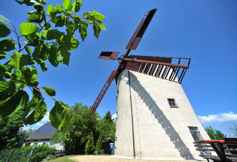 Vogtland, Windmühle Syrau. Foto: Andreas Wetzel